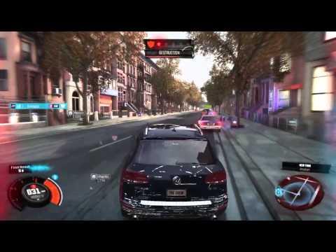 The Crew - New York Police Chase (VW Touareg)