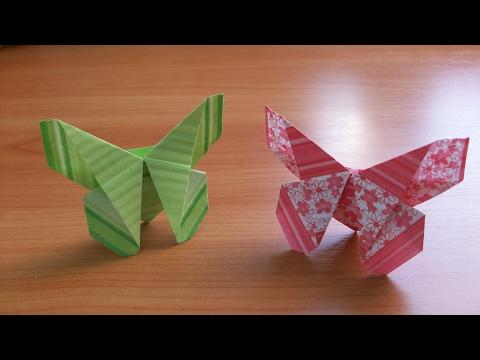 Простые Оригами Поделки БАБОЧКИ Для Открыток. Закладки. Как Сделать Быстро Своими Руками