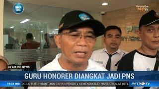 Kabar Bagus Guru Honorer Diangkat Jadi PNS Oleh Kemendikbud