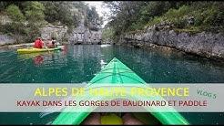 Alpes-de-Haute-Provence : Kayak et Paddle dans les Gorges de Baudinard