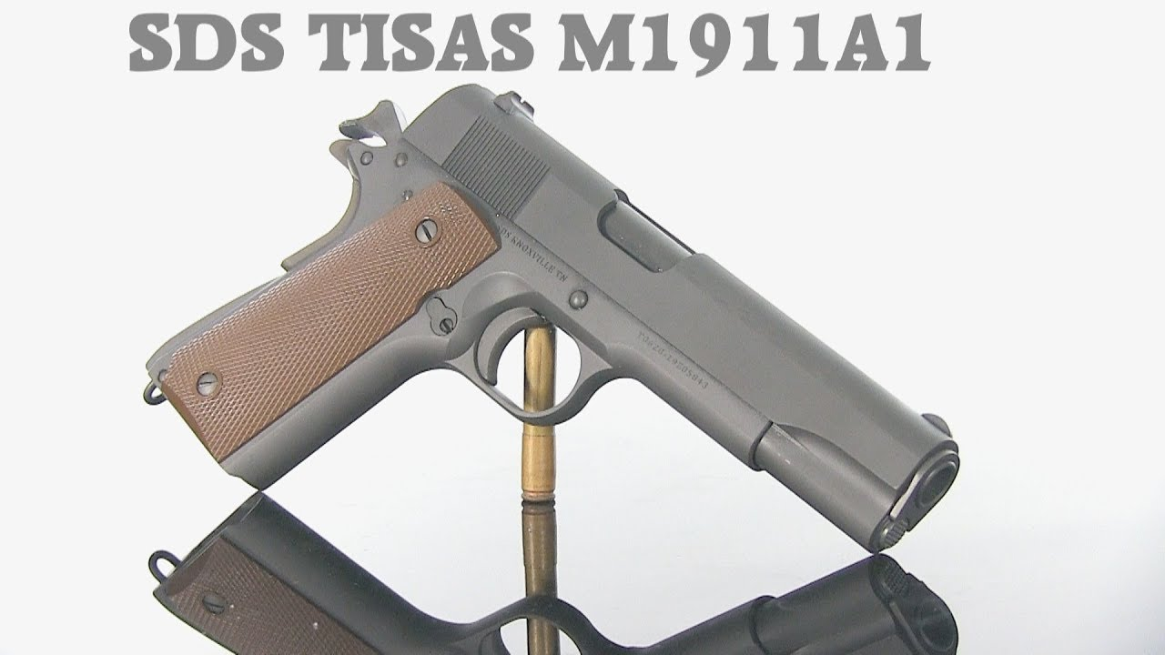 SDS Tisas M1911A1 - First 120 Rounds Impressions
