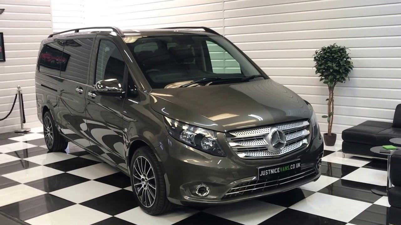 8d533f283c0a89 2017 (17) Mercedes Benz Vito Tourer Select 114 2.1 CDi Bluetec Auto XLWB  140BHP (Sorry Now Sold)