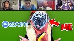 Joining Random Online Zoom Classes UNDERCOVER!!