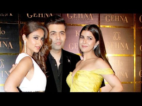 Karan Johar, Ileana D'Cruz And Nimrat Kaur Launch A Jewelry Collection 'KJo For Gehna'