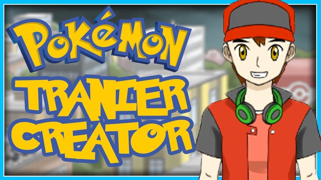 CREATE YOUR OWN POKEMON TRAINER! (Deviantart Pokemon Trainer Creator/Dress  Up Game)