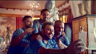 OPPO F3 Diwali Edition TV Advert featuring Indian Cricket Team