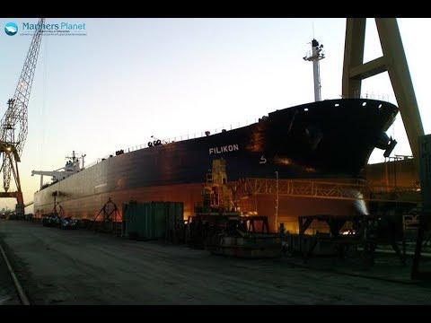 FILIKON CRUDE OIL TANKER SHIP FOR MERCHANT NAVY