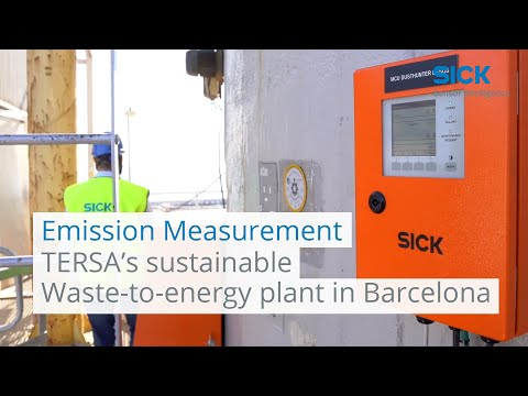 TERSA's sustainable Waste-to-energy plant in Barcelona | SICK AG