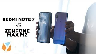 Redmi Note 7 vs Asus Zenfone Max Pro M2