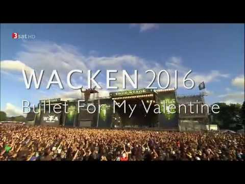 Bullet for my Valentine. Live at Wacken 2016 HDTV