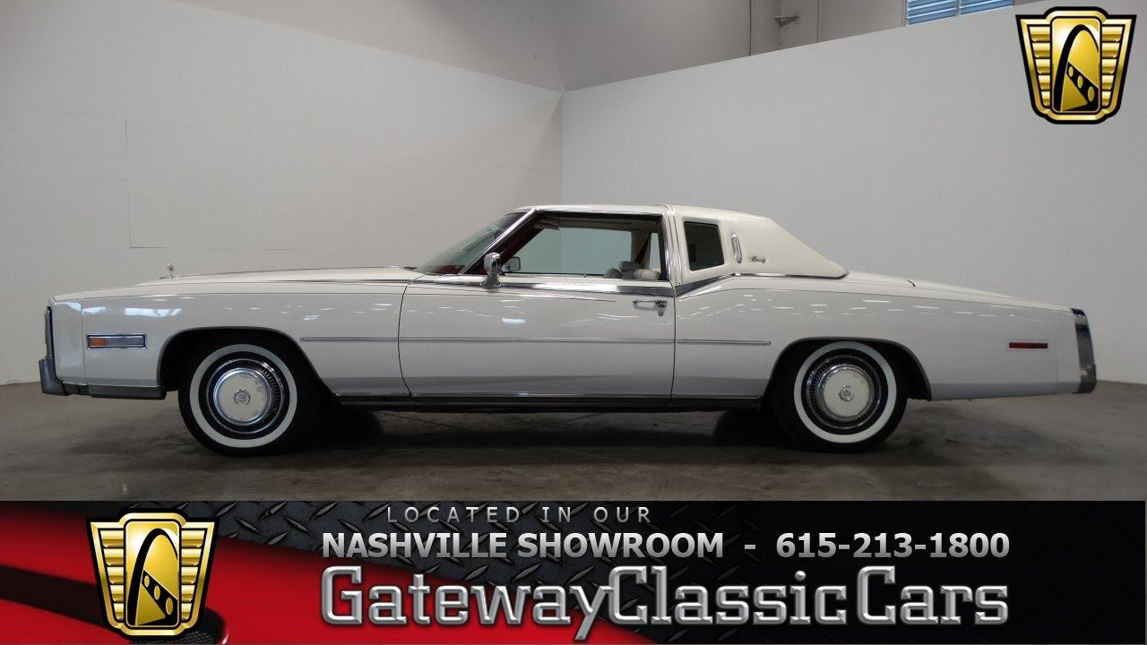 1978 Cadillac Eldorado # 254, Gateway Classic Cars-Nashville