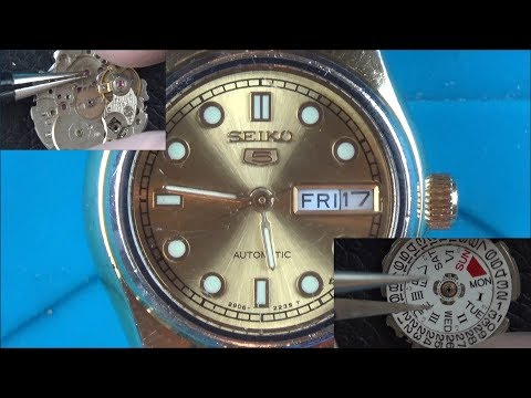 Trying To FIX A Faulty 1980 Lady's Seiko Automatic Watch (2906 Movement)