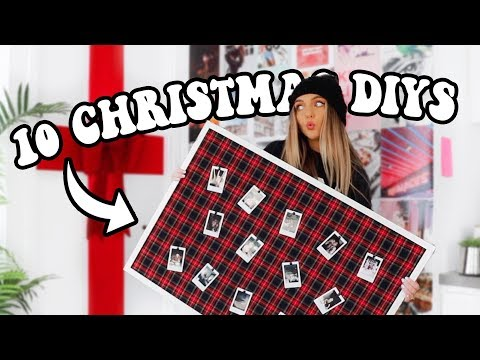 10 CHRISTMAS DIYs (decorations + last minute gifts people actually want)