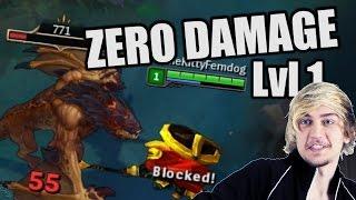 Siv HD - ZERO DAMAGE level 1 Dragon