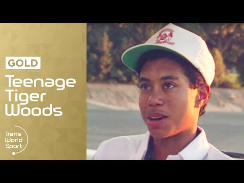 14-Year-Old Tiger Woods on Trans World Sport | Trans World S