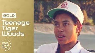 14-Year-Old Tiger Woods on Trans World Sport