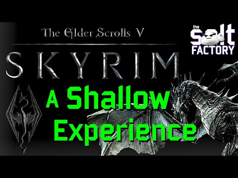Evaluating Skyrim: An extremely shallow experience