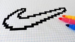 Tuto Comment Dessiner Le Logo Adidas Multicolore En Pixel