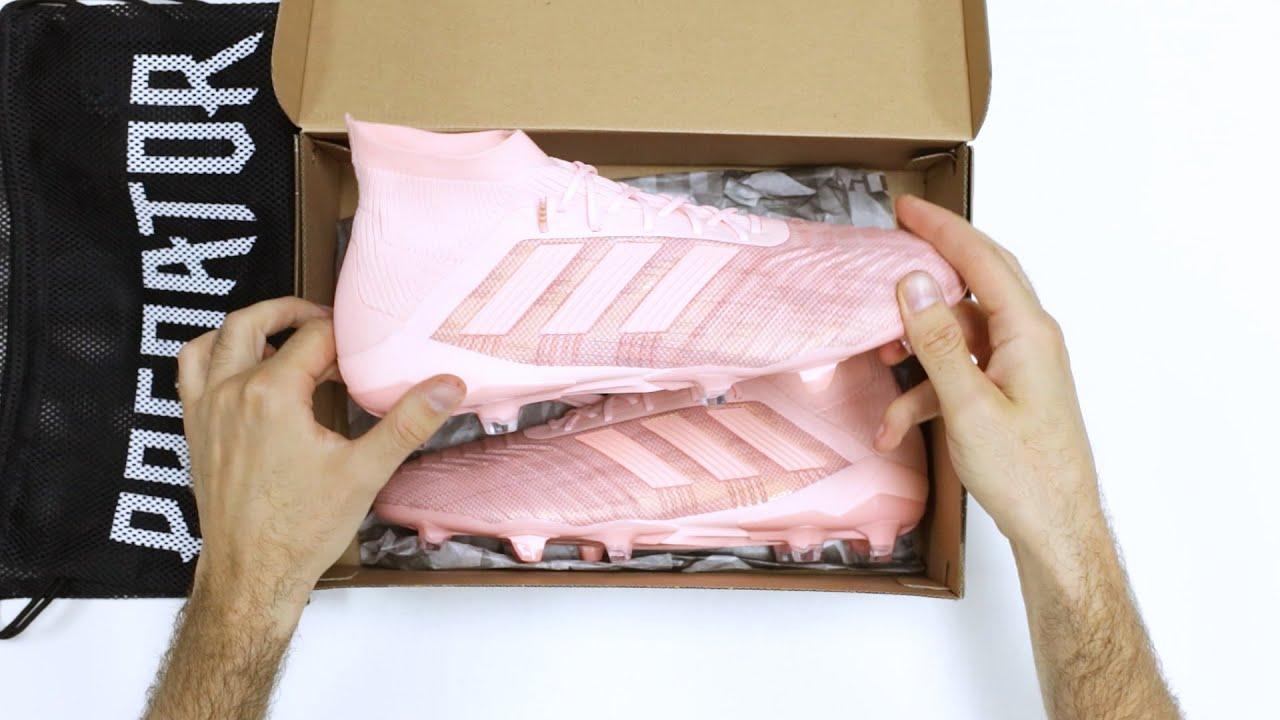 151d6340685d0 UNBOXING  Botas fútbol adidas Predator 18.1 Spectral Mode ...