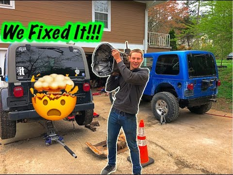 The Jeep's Clutch Blew Up?!