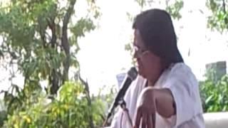 Anandeshwar Mandir me Sachcha Baba ki Katha Karti hui Guru Maa 7