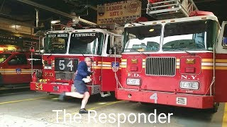 [FDNY] FULL HOUSE TO A FIRE - ENGINE 54, LADDER 4 & BATTALION 9