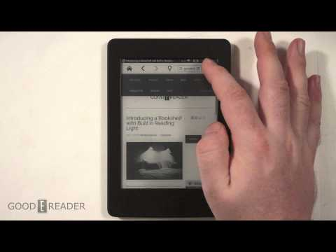 How To Use The Kindle Paperpwhite 3 Internet Browser