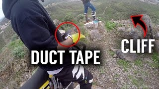 Duct Tape + Enduro (DO NOT TRY THIS)