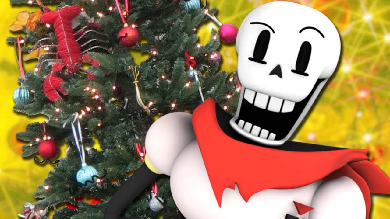 INFURIATING GAME | Papyrus Big Christmas Adventure [Undertale Fan ...