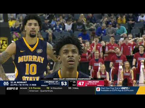 Ja Morant Vs BEL 36 PTS                           3.09.19