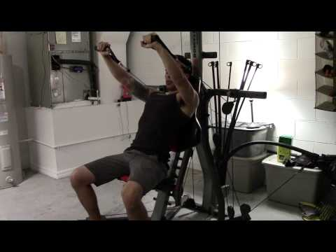 Bowflex Xtreme 2 SE Incline Decline Bench Press How To