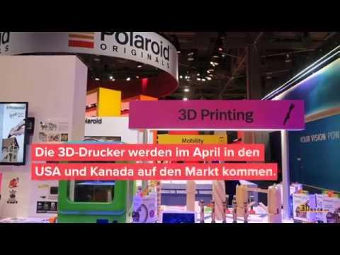 0 - Polaroid präsentiert neue Nano 3D-Drucker Reihe auf CES