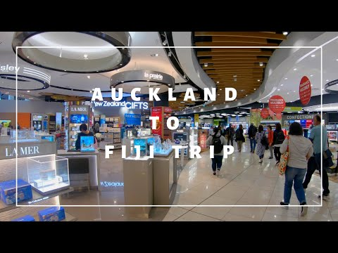 Auckland To Fiji Trip On Air New Zealand Boeing 777