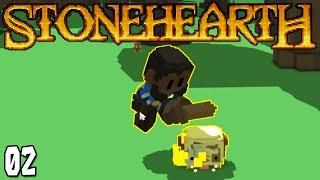 """Stonehearth Ep 02 - """"I"""