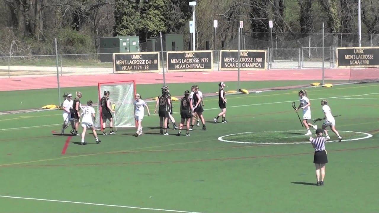 UMBC Women's Lacrosse vs Vermont Highlights 4/12/14 - YouTube