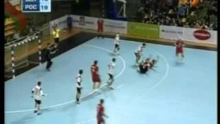 Гандбол. Беларусь - Россия - 32-39
