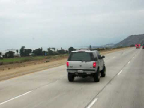 Léger Transport along pacific coast on 101 north in California