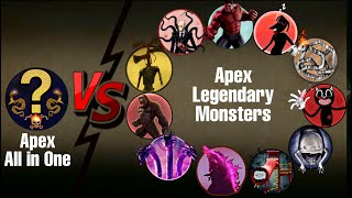 APEX ALL IN ONE Saving Kid from APEX LEGENDARY MONSTERS | Most Thrilling Video