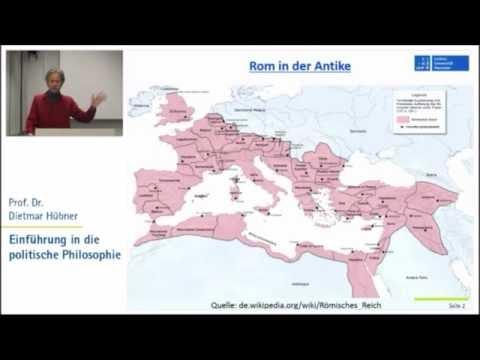 Politische Philosophie 3: Antike 3 - Polybios, Cicero