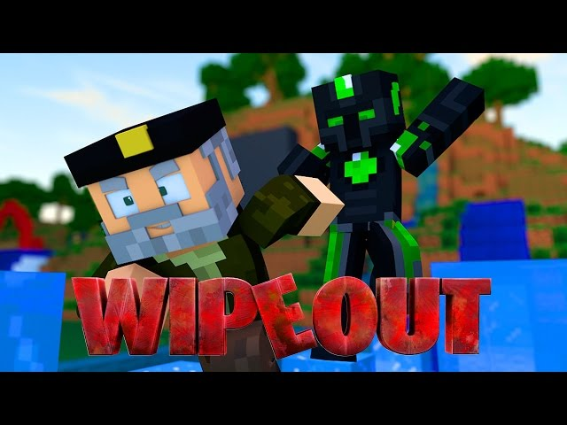 EL EMPUJÓN!! WIPEOUT | Minecraft Race Map