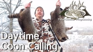 Video Daytime Coon Calling Tips - Hunting Raccoons with an electronic Predator Caller download MP3, 3GP, MP4, WEBM, AVI, FLV Juni 2018