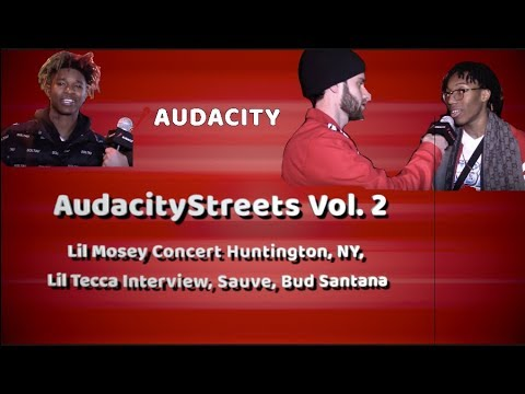 Lil Mosey Concert Huntington, NY, Lil Tecca Interview, Sauve (FIGHT AT END)