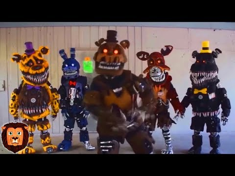 FIVE NIGHTS AT FREDDY'S EN LA VIDA REAL FNAF REAL LIFE | ANIMATRONICOS EN LA VIDA REAL LEON PICARON