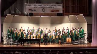 CHS A-Choir, 2013 State Championships - Didn