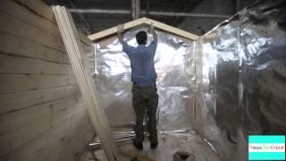 видео Как сделать баню из сарая