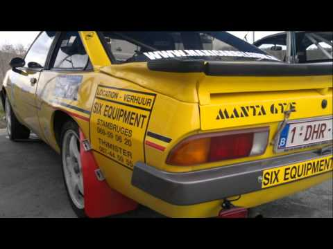 opel manta b rallye youtube. Black Bedroom Furniture Sets. Home Design Ideas