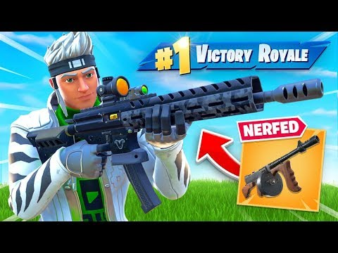 Epic NERFED Drum Gun for THIS (New Gun)