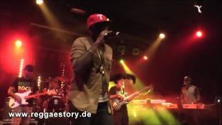 Tarrus Riley - 5/6 - Burning Desire + 1 2 3 I Love You - 04.10.2014 - YAAM Berlin