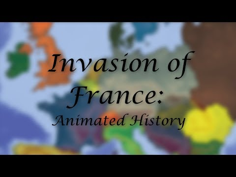 Invasion of France Part 1: Animated Documentary