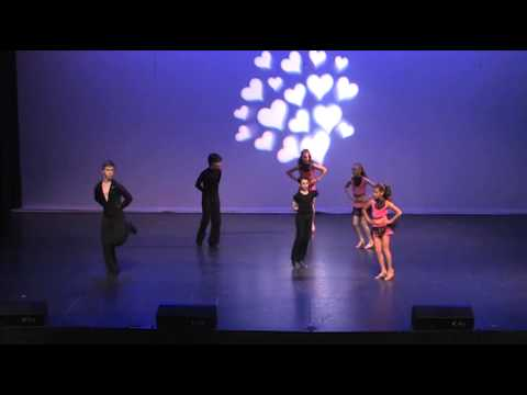 Dance Stream studio recital.  L O V E .Latin